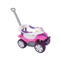 Andador Para Bebê De Empurrar Biemme Sofy Car Rosa