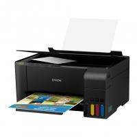 Impressora Multifuncional Epson EcoTank L3150 - Tanque de Tinta Wi-Fi Colorida USB