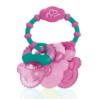 Mordedor Refrescante Com Gel Multikids Cool Rings Bb167 Rosa
