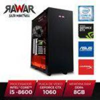 PC Gamer RAWAR RW266PVM INTEL I5 8600 8GB SSD120 (Geforce GTX1060 de 6GB) 1TB