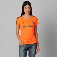 4724cb2edf Camisa Feminina Adidas Fluminense III 13 14 s nº Laranja