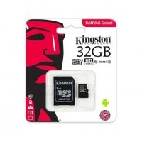 CARTAO DE MEMORIA 32GB KINGSTON CLASSE 10 MICRO/SDXC CANVAS SELECT (SDCS/32GB) *