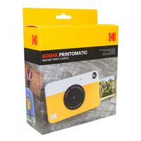 Câmera Digital Instantânea Kodak Rodomatic 5MP Amarela E Branca
