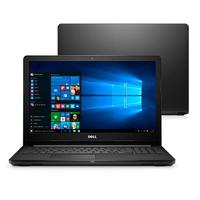 "Notebook Dell Inspiron I15-3567-A40P Intel Core i5-7200U 8GB 1TB 2,5GHz 15.6"" Windows 10 Preto"
