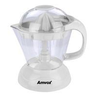 Espremedor de Frutas Amvox AES 3300 Branco