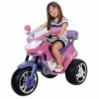 Moto Infantil Fada 6v Rosa/lilás 1210l Magic Toys