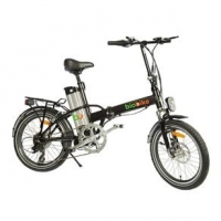 Bicicleta Biobike Elétrica Dobrável JS 12 Aro 20 Preta