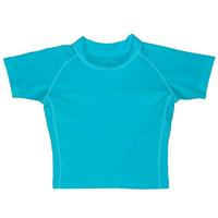 Camisa de Banho Iplay Básica Infantil Masculina Azul Claro