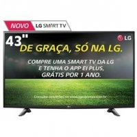 Smart TV LED 43 LG 43LH5700 Full HD Wi-Fi
