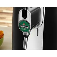Chopeira Beertender Krups B100 Heineken Preta e Prata