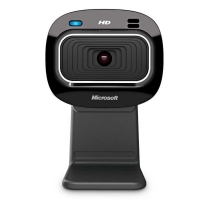 WebCam Microsoft LifeCam HD-3000 T3H-00011 Preta