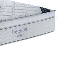 Colchão Casal Ortobom Freedom com Pillow Top e Molas Pocket 32x138x188cm