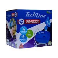 Inalador Nebulizador De Ar Comprimido Techline Nb-01