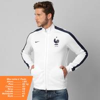 5226f11cf4 Jaqueta Nike Seleção França Auth N98 2014 Masculina Branca