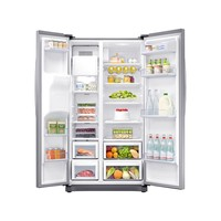 Refrigerador Samsung Frost Free 501L RS50N3413S8/AZ Inox Look