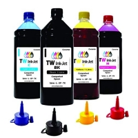 kit 4X500ml Tinta Epson Impressora L4160 L6161 TW Ink-Jet