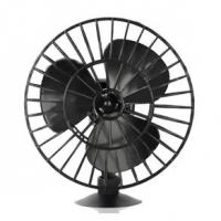 Mini Ventilador Black 12v Automotivo Com Ventosa Preto