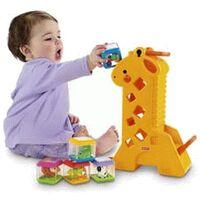 Girafa com Blocos Fisher Price Mattel B4253