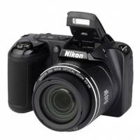 Camera Digital Nikon Coolpix L340 20.2MP Preto
