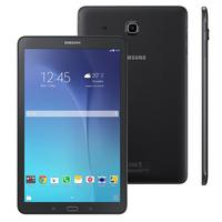 "Tablet Samsung Galaxy Tab E SM-T560 Wi-Fi 9.6"" 8GB 1.3Ghz 5MP Android 4.4 Preto"
