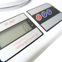 Balança Digital Eletrônica WMT SF-400 Branca