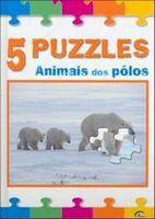Animais dos Pólos - Col. - 5 Puzziles