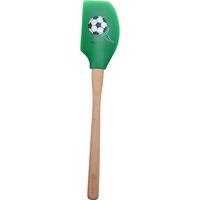 Espátula Tovolo Silicone Cabo de Madeira Futebol