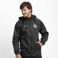 Jaqueta Nike Santos Chuva c  Capuz Masculina Preta  19f682eb41189