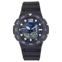ebf16bfd3f0 Relógio Casio AEQ-100W-2AVDF Azul Marinho e Preto