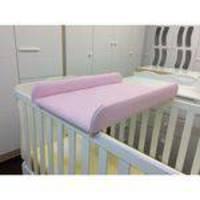 Trocador De Fraldas Almofadado Para Berço Corino Rosa Bebê - Phoenix Baby