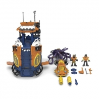 Imaginext Navio Comando Do Mar DFX93 Fisher-Price Colorido