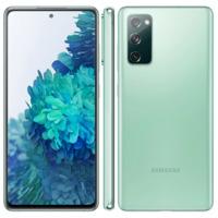 Smartphone Samsung Galaxy S20 FE Cloud Mint 128GB, 6GB RAM, Tela Infinita de 6.5, Câmera Traseira Tripla, Android 10 e Processador Octa-Core