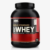 Suplemento Optimum Nutrition Gold Standard 100% Whey Protein Isolates Morango 2.27kg