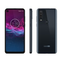 Smartphone Motorola One Action XT2013-1 Desbloqueado Dual Chip 128GB Android Pie 9.0 Azul