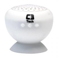 Speaker C3 Tech SP-12B Bluetooth 3W Branca