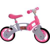 Bicicleta de Equilíbrio Kami Bikes Princess Aro 10 Branca e Rosa