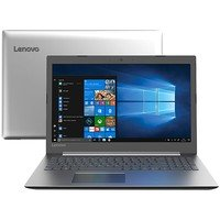 Notebook Lenovo Ideapad 330 81FE0002BR i5-8250U 8GB 1TB 1.6GHz 15,6 Windows 10 Home Prata