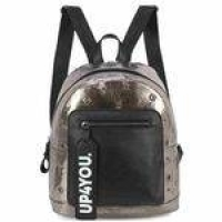 Bolsa Mochila Up4you First Prata Holografica