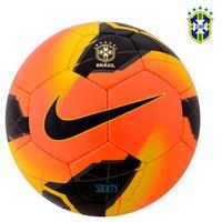 Bola de Futebol de Society Nike Campeonato Brasileiro CBF Laranja e Preto 25fe5721b43ea