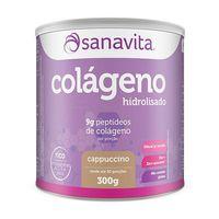 Suplemento Sanavita Colágeno Cappucino 300g