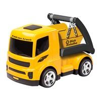 Caminhão Usual Brinquedos Falcon Truck Entulho Amarelo e Preto