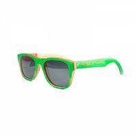 Óculos de Sol TwoDogs Ilha do Mel Colors Madeira Verde