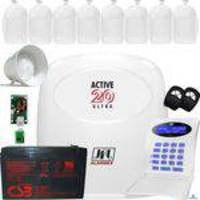 Kit Alarme Residencial Monitorado Active 20 Ultra Jfl
