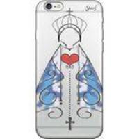 Capa Capinha para Celular Iphone 8 - Spark Cases - Transparente - Nossa Senhora