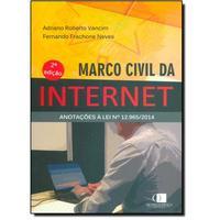 Marco Civil da Internet:Anotações À Lei Nº 12.965 - 2014