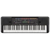 Teclado Musical Yamaha PSR-E263 Preto com 61 Teclas e 400 Timbres