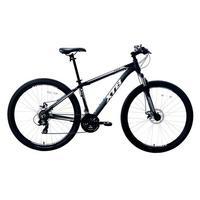 Bicicleta Aro 29 Xtb Com Quadro Em Alumínio Suspensão Dianteira E 21 Marchas Preta