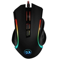 Mouse Gamer Griffin com LED RGB M607, Redragon, Mouses, Preto