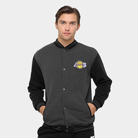 Jaqueta Los Angeles Lakers NBA Moletom College 17 Masculina - Masculino
