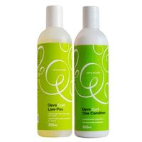 Kit Shampoo + Condicionador Deva Curl Low Poo